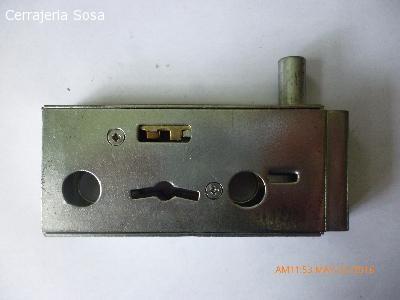 Cerraduras para puertas de cristal  Eyro D17